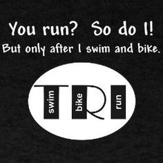 Training for a triathlon but don't know where to start?Try our Ultimate Triathlon training guide. Sprint Triathlon, Ironman Triathlon, Triathlon Training, Triathlon Humor, Triathlon Motivation, Training Motivation, Half Ironman, Def Not, Bike Run