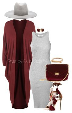 A fashion look from September 2016 featuring WearAll cardigans, sandals and Janessa Leone hats. Browse and shop related looks. Look Fashion, Autumn Fashion, Girl Fashion, Fashion Outfits, Womens Fashion, Fashion Beauty, Classy Outfits, Stylish Outfits, Fall Outfits