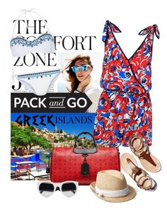 """""""Let's Take A Trip"""" by joyfulnoise1052 ❤ liked on Polyvore featuring Alice & Trixie, Accessorize, MCM, Gap, Monsoon, Packandgo and greekislands"""