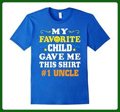 Mens My Favorite Child Gave Me This Shirt # 1 Uncle T-Shirt Small Royal Blue - Relatives and family shirts (*Amazon Partner-Link)