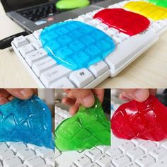 Practical Cyber Super Clean Magic Dust Cleaning Compound Slimy Gel Wiper For Keyboard Laptop Computer