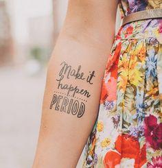 Tatuagens estilosas