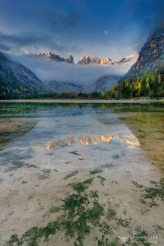Landro lake Alto Adige - Dolomites. Marco Milanesi.