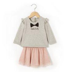 Комплект из свитшота и юбки R Baby | купить в интернет-магазине La Redoute