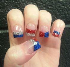 Acrylic nails by Jill