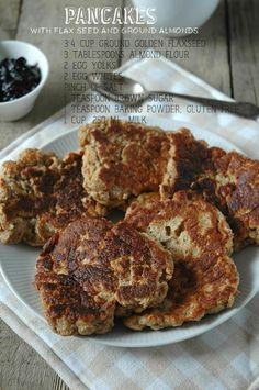 Cookie with Marmalade: Śniadanie bez mąki - placki z siemienia lanianego