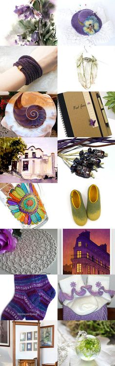 Lavender Blues by Linda Karen on Etsy--Pinned+with+TreasuryPin.com