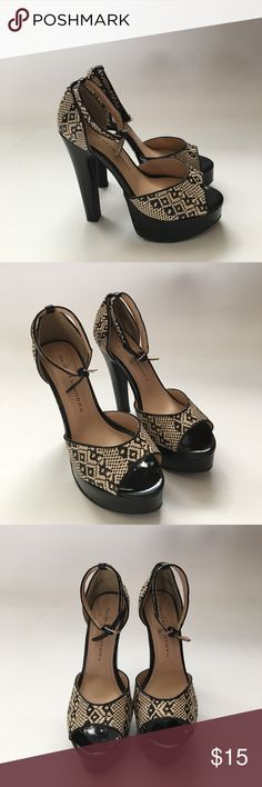 💕brand new💕Chinese Laundry stilettos size 8.5 Cute stilettos with ankle strap. Synthetic materials. So cute! 💕💕💕 Chinese Laundry Shoes Heeled Boots