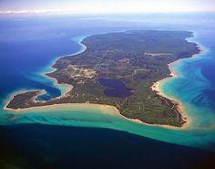 Beaver Island, Lake Michigan: slow down, this ain't the mainland.