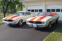 A Camaro convertible RS – SS / Rally Sport – Super Sport Indy 500 Pace Car option code) and a rare option coupe (duplicate Indy Pace Car striping – estimated built). Muscle Cars Vintage, Vintage Cars, Chevrolet Camaro, Camaro Ss, Pontiac Gto, Classic Camaro, Classic Chevrolet, Trailers, Enjoy The Ride
