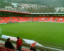 SK Brann (most often called Brann or SK Brann Bergen in international contexts) is a Norwegian football club, founded September 26, 1908, from Bergen. Brann has been in the Norwegian Premier League Tippeligaen since 1987 and play their home matches at Brann Stadion.
