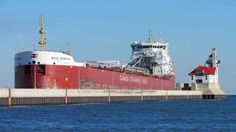 The Baie Comeau arrived Duluth on November 25, 2014 to load coal  for Quebec at Midwest Energy. It was her 15th trip here this season; she was here 7 times in 2013, her first year in service. - See more at: http://duluthshippingnews.com