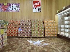The Milk Spill - William Eggleston.