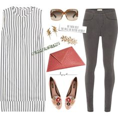 Be Your Self by musicfriend1 on Polyvore featuring Brunello Cucinelli, White Stuff, Dolce