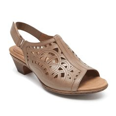 Glorious Cobb Hill Fiona By Rockport 9 Wide Selected Material Sandals Brown