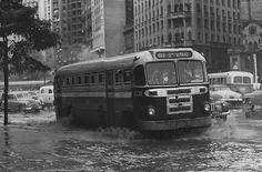 Enchente centro SP década 50-60 (internet)
