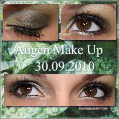Eye Make Up - Datum: 30.09.10  http://talasia.blogspot.de/2010/10/amu-crazy-about-fauna.html