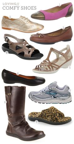Favorite Comfort Shoes for Chronic Foot Pain by Sarah Hearts