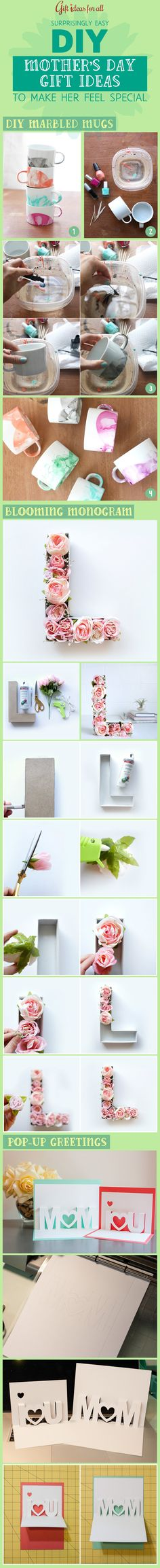 21 Surprisingly Easy #DIY Mother's Day #Gift Ideas to Make Her Feel Special. #gifts #giftideas #giftguide #mothersdaygift #mothersday