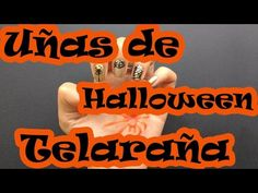 Uñas de Telaraña - Halloween - - YouTube