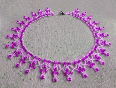 Free pattern for necklace Dita Click on link to get pattern - http://beadsmagic.com/?p=5513