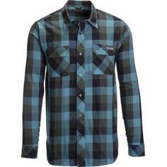 FlyLow Gear Chappy Flannel Shirt ($52) ❤ liked on Polyvore featuring men's fashion, men's clothing, men's shirts, men's casual shirts, men, tops, mens checked shirts, mens checkered shirts and mens flannel shirts