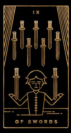 Golden Thread Tarot, Darth Vader