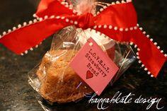 L.O.V.E.L.Y Strawberry Bread