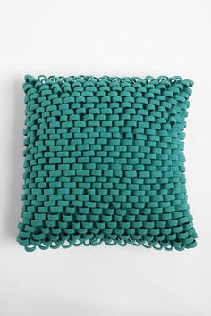 love this basketweave pillow from urban outfitters...I think I can recreate it