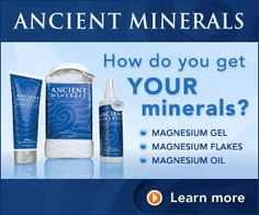 Minerals are so important, especially Magnesium - applying it topically is the best way for the body to absorb it in the amounts that we need... from The Longevity Salon
