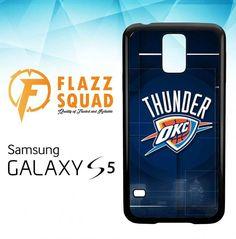 thunder okc Z4186 Samsung Galaxy S5 Case