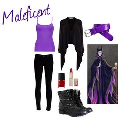"""Maleficent"" by faerietalementality on Polyvore"