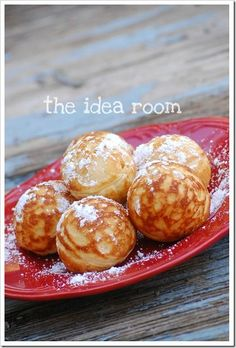 Breakfast Recipe Idea-Aebleskivers | theidearoom.net