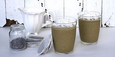 Creamy Coconut Lavender Smoothie Recipe With Himalayan Salt and Hemp Hearts Juice Smoothie, Smoothie Recipes, Smoothies, Hemp Hearts, Earl Grey Tea, Frozen Banana, Meals For One, Afternoon Tea, Smoothie
