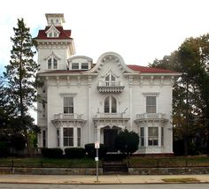George Prentice mansion, bounded by Broadway, Tobey, and Bainbridge, Rhode Island