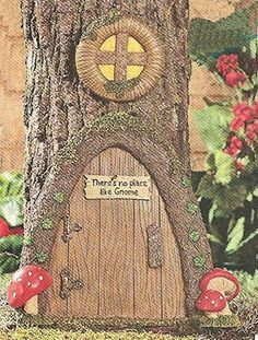 107 Best Tree Stump Gnome Homes Images Fairy Garden