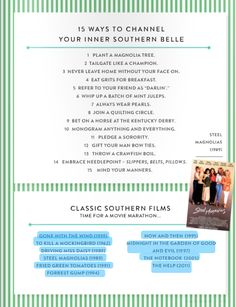 15 ways to channel your inner southern belle