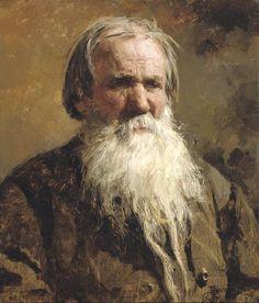 Vasily Polenov - Portrait of Vasilii Petrovich Shchegolenok 1879