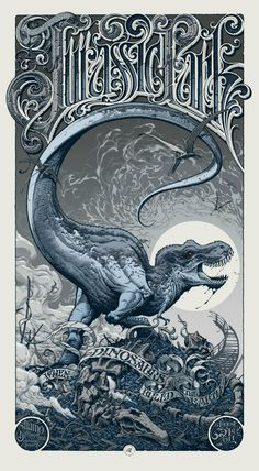 Jurassic Park, by Aaron Horkey