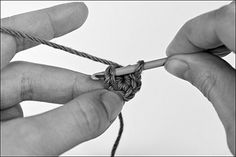 Making Basic Amigurumi Shapes, Part 1: The Magic Ring, Foundation Chain, and Flat Circle
