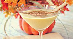 Spiced Pumpkin Martini