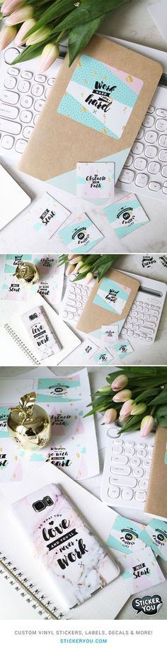 StickerApp Decals Pinterest Custom Stickers Popular And - Custom stickers and magnets
