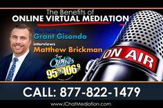 Grant Gisondo Talks To Matthew Brickman About The Benefits of Online Virtual Mediation