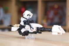 Droides Star Wars, Lego Star Wars Mini, Star Wars Droids, Lego Custom Minifigures, Star Wars Minifigures, Lego Mandalorian, Lego Pictures, Lego Activities, Star Wars Vehicles