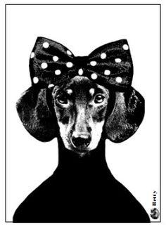 Lisa Bengtsson Postcard Betty | Lisa Bengtsson | Buiten de Lijntjes