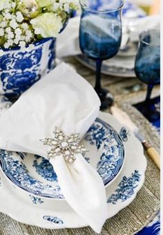 Christmas Home Decor These 15 Blue Christmas Decor Ideas Will Have You Rethinking Your Traditional Style Blue Christmas Decor, Christmas Tea, Silver Christmas, Christmas Themes, Nordic Christmas, Christmas Candles, Reindeer Christmas, Christmas Villages, Victorian Christmas