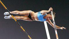 Yelena Isinbaeva, pole vaulter, RUS
