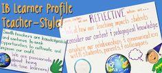 IB Learner Profile Teacher Style!