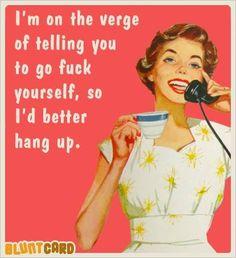 on the verge...........