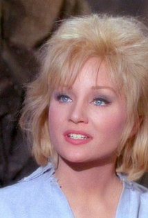 """Vina (Susan Oliver) - Star Trek """"The Cage"""" (First screened to NBC in February, 1965 - Restored TV premiere, October Star Trek 1966, Star Trek Tos, Star Wars, Susan Oliver, Star Trek Images, Blonde Actresses, Star Trek Original Series, Star Trek Characters, Celebrities Then And Now"""